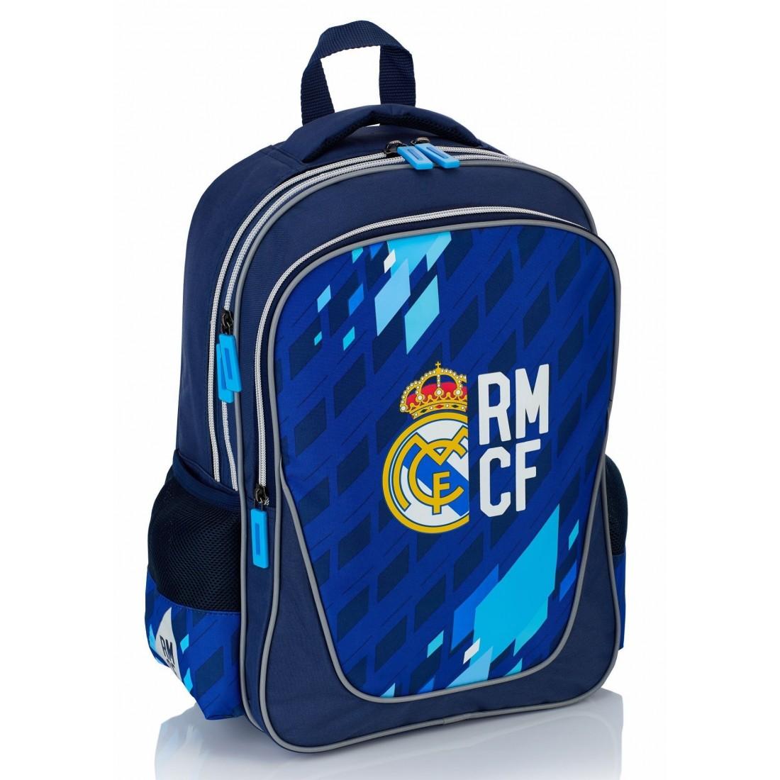 31daa6b0eb3fd Plecak młodzieżowy Real Madryt do pierwszej klasy granatowy - RM-121 ...