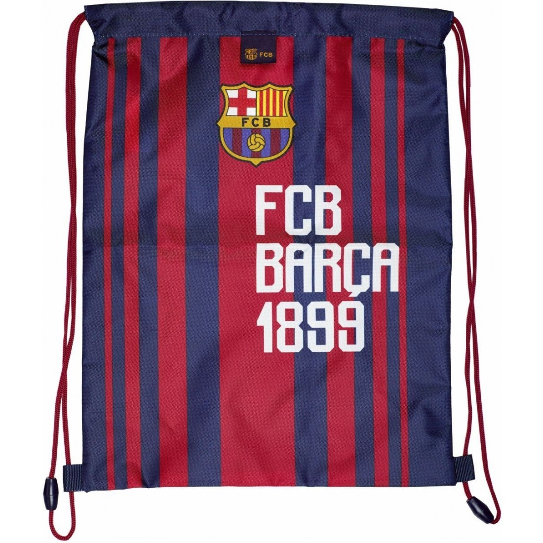 6203910717c64 Worek szkolny na buty   WF FC Barcelona Barca w granatowe paski - FC ...