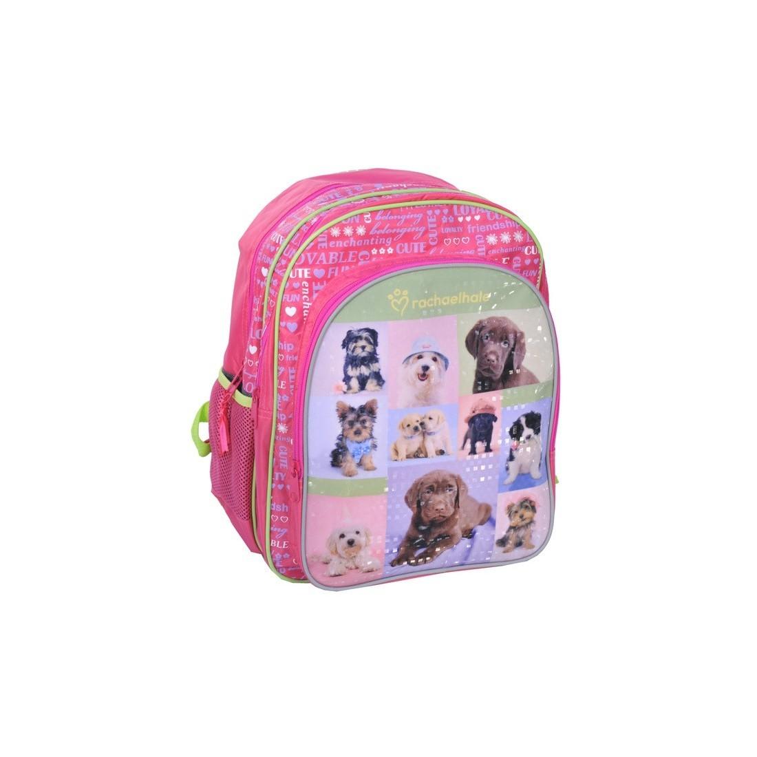 Plecak szkolny Rachael Hale z psami - plecak-tornister.pl