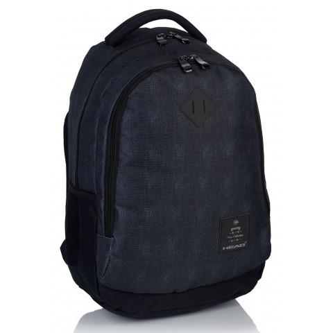 Plecak szkolny HEAD ciemny jeans dla chłopaka - HD-70 B