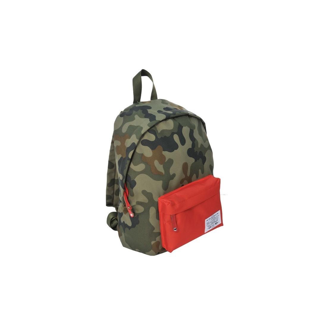 Plecak młodzieżowy Ciemne Moro pomarańczowy