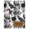 Zeszyt A5 HEAD 60 kartkowy w kratkę tropikalna iluzja tukan liście kwiaty - HD-175