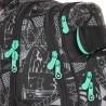 Plecak młodzieżowy Topgal Miasto nocą kieszeń na laptop YUMI 18028 B
