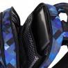 Plecak młodzieżowy Topgal niebieski w kratkę kieszeń na laptop YUMI18036B