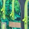 Plecak szkolny Topgal, wymienne zwierzątka safari zielony ENDY 18010 B