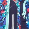 Tornister Topgal cyferki i potworki niebieski BEBE 18003 B