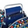 Plecak szkolny Topgal w wielokolorową kratkę CODA 18020 B