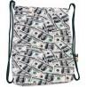 Worek / plecak na sznurkach ST.RIGHT DOLLARS dolary banknoty