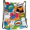 Worek / plecak na sznurkach ST.RIGHT COMICS komiks kolorowy full print