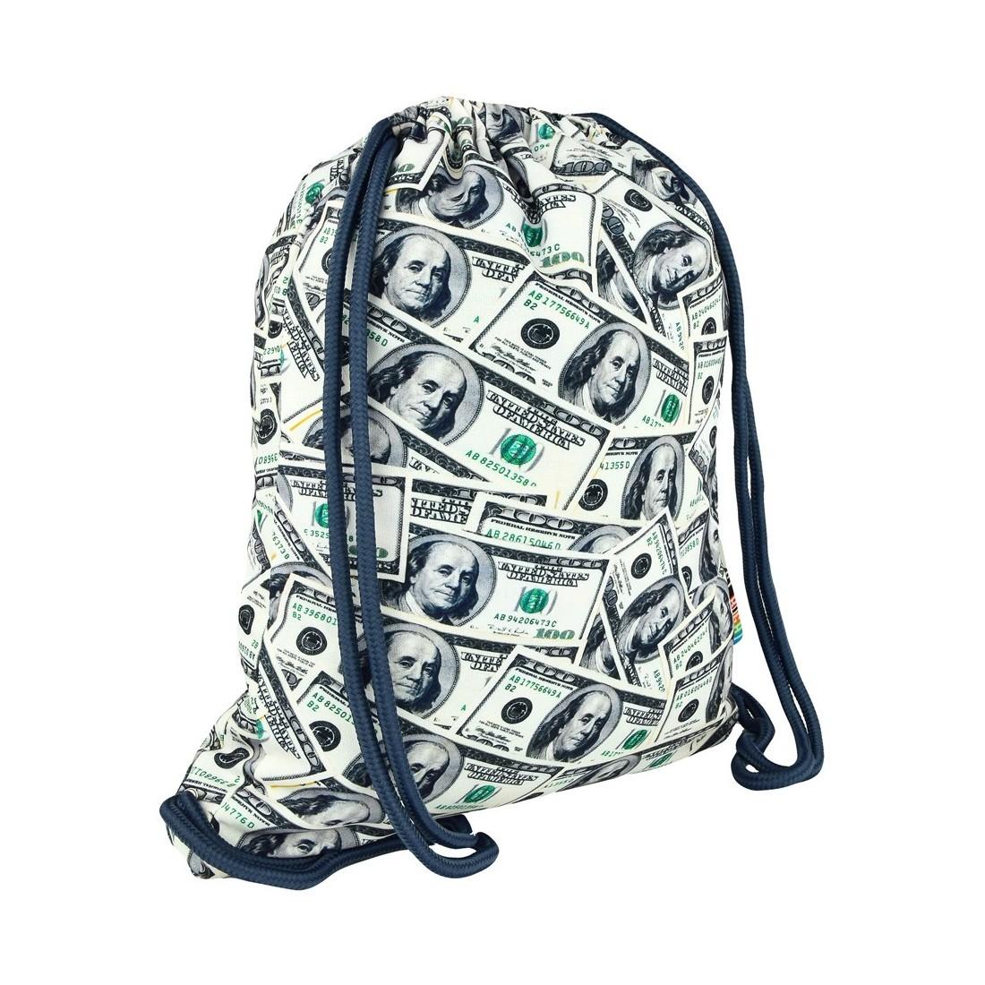 7c1b63b2465a6 Worek / plecak na sznurkach ST.RIGHT DOLLARS dolary banknoty HIT ...