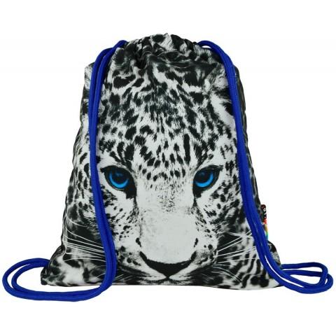 Worek / plecak na sznurkach ST.RIGHT PANTHERA pantera niebieskie oczy