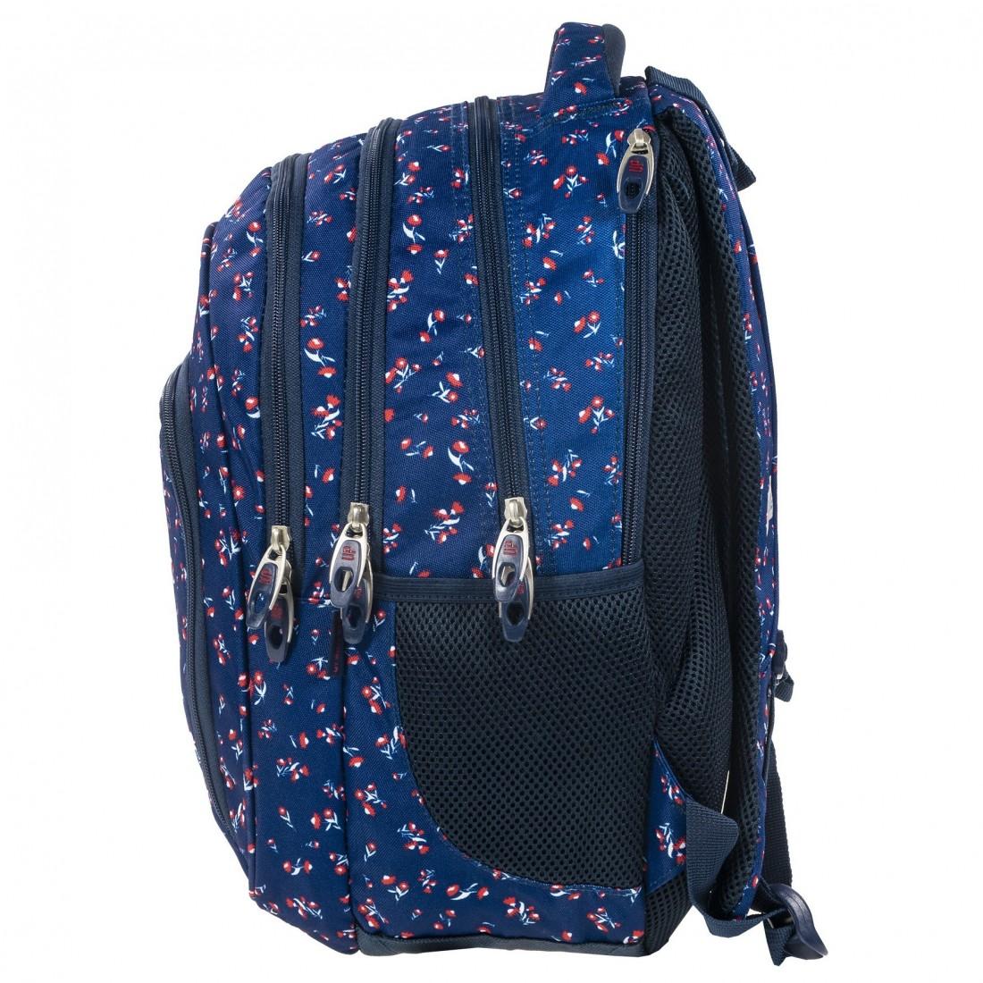 d17cfb1a771fe ... Plecak szkolny drobne kwiatuszki + GRATIS słuchawki BackUP D 26. Obniżka