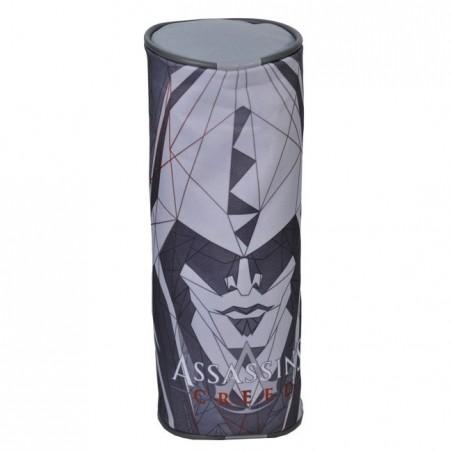 Piórnik tuba Assassin's szary