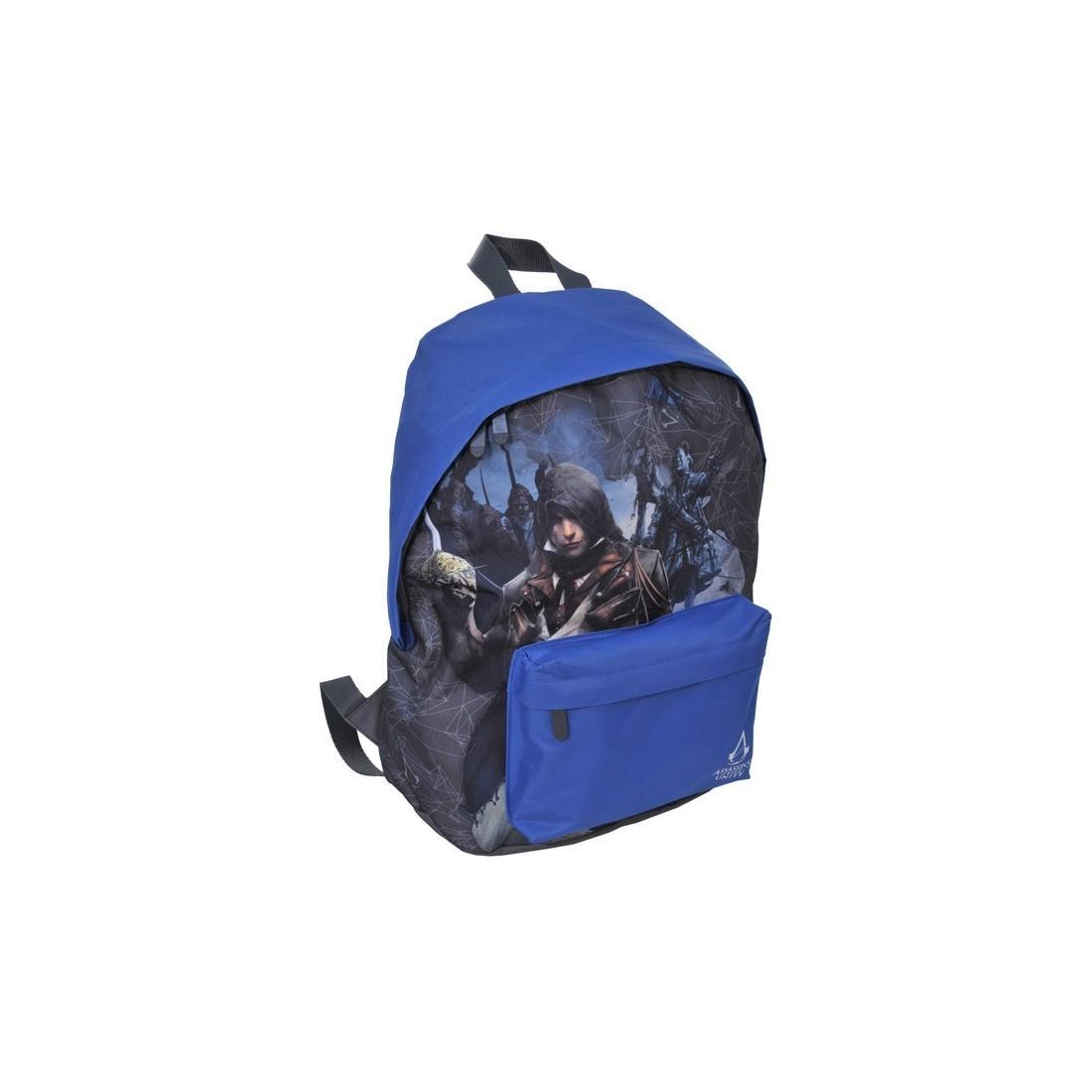 Plecak Assasin's Creed niebieski - plecak-tornister.pl