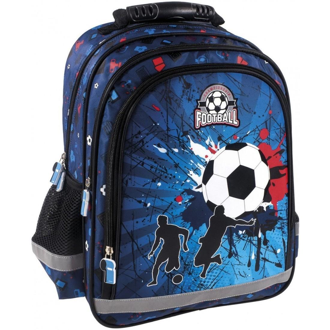 b111ed6f33987 Chłopięcy plecak szkolny do klasy 1-3. Posiada wyprofilowane plecy.