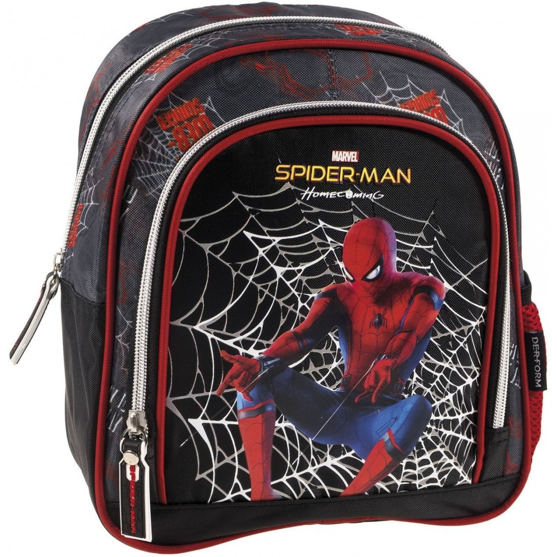 343f18fcf1a63 Mały plecak SPIDERMAN dla chłopca czarny - plecak-tornister.pl