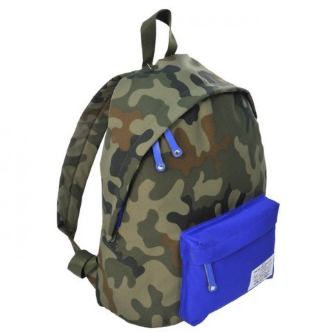 Plecak młodzieżowy Ciemne Moro niebieski