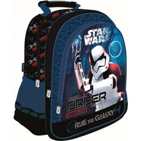 Plecak STAR WARS: OSTATNI JEDNI 8 - szkolny niebieski