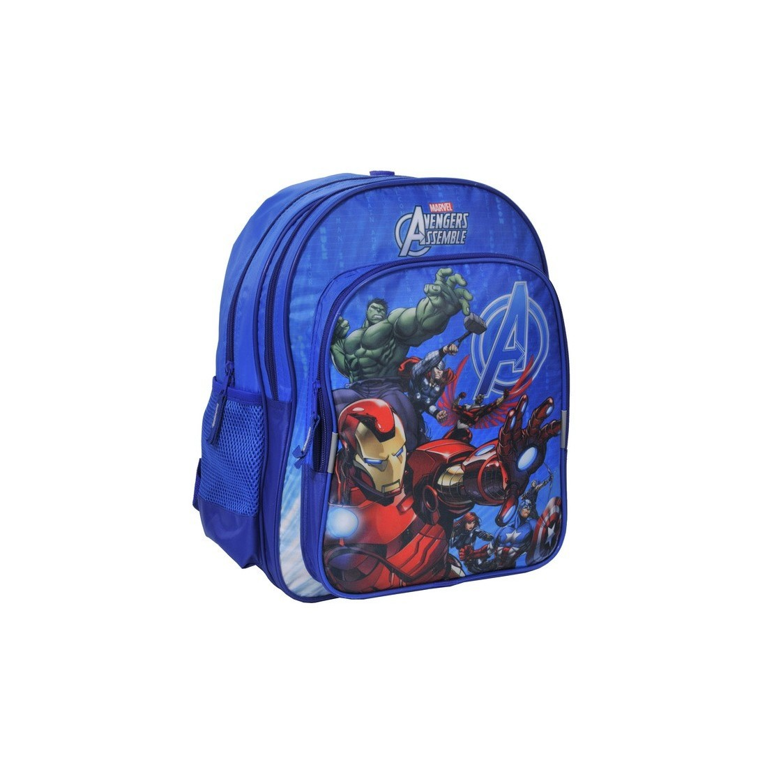 Plecak szkolny Avengers niebieski - plecak-tornister.pl