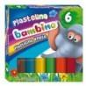 BAMBINO Plastelina w 6 kolorach - mix wzorów