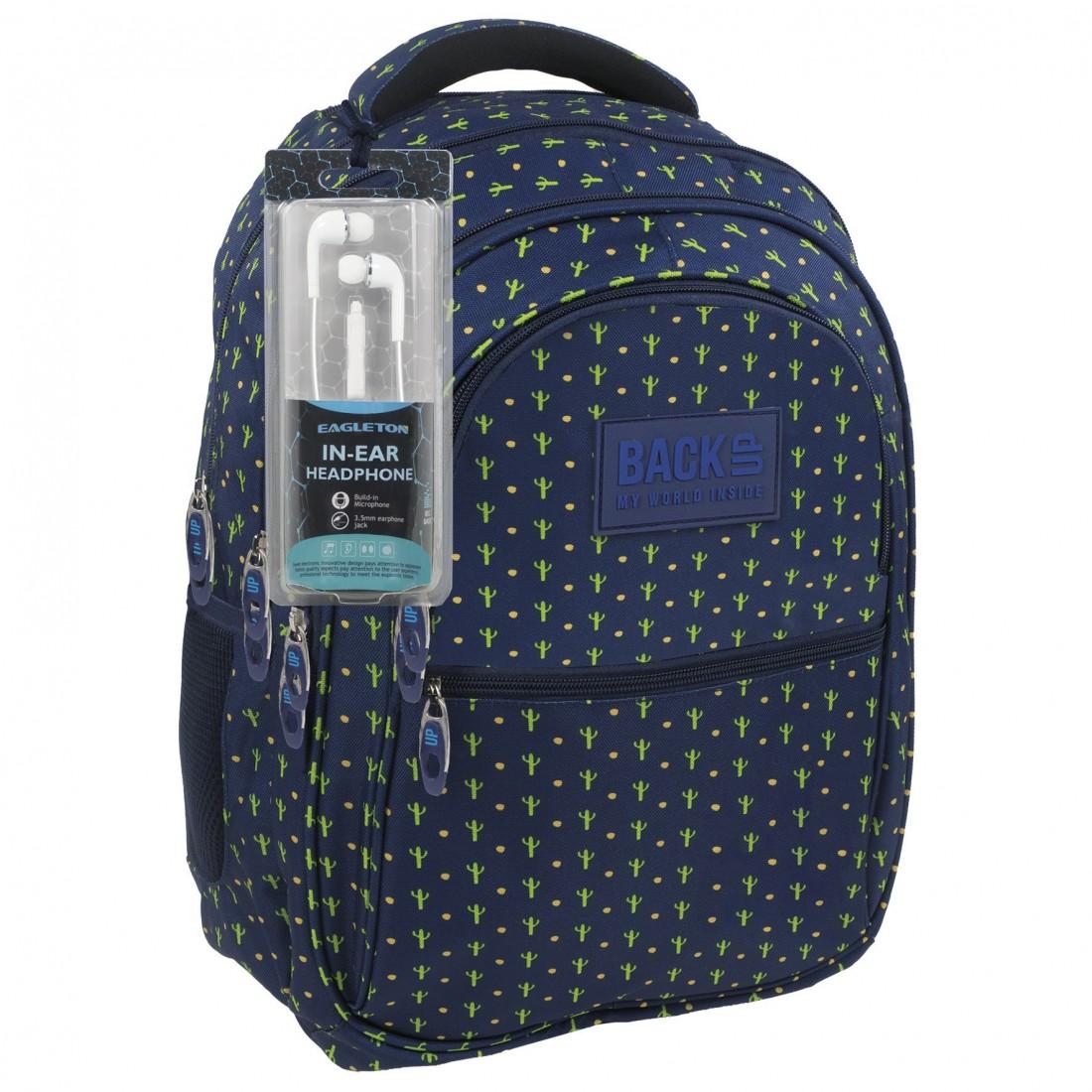 cff93ebcdb14c Modny i wyjątkowy jednocześnie plecak z kaktusami - zarówno dla chłopaków