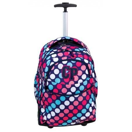 Plecak CoolPack na kółkach dla dziewczyny w kropki - RAPID DOTS CP 032