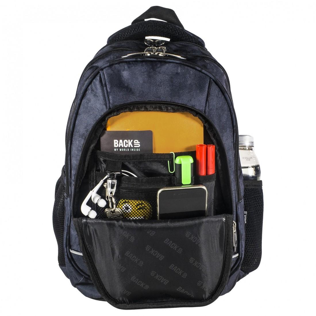 2621b1024a90c Plecak dla dziewczyny pióra BackUP A 24 do szkoły + słuchawki ...