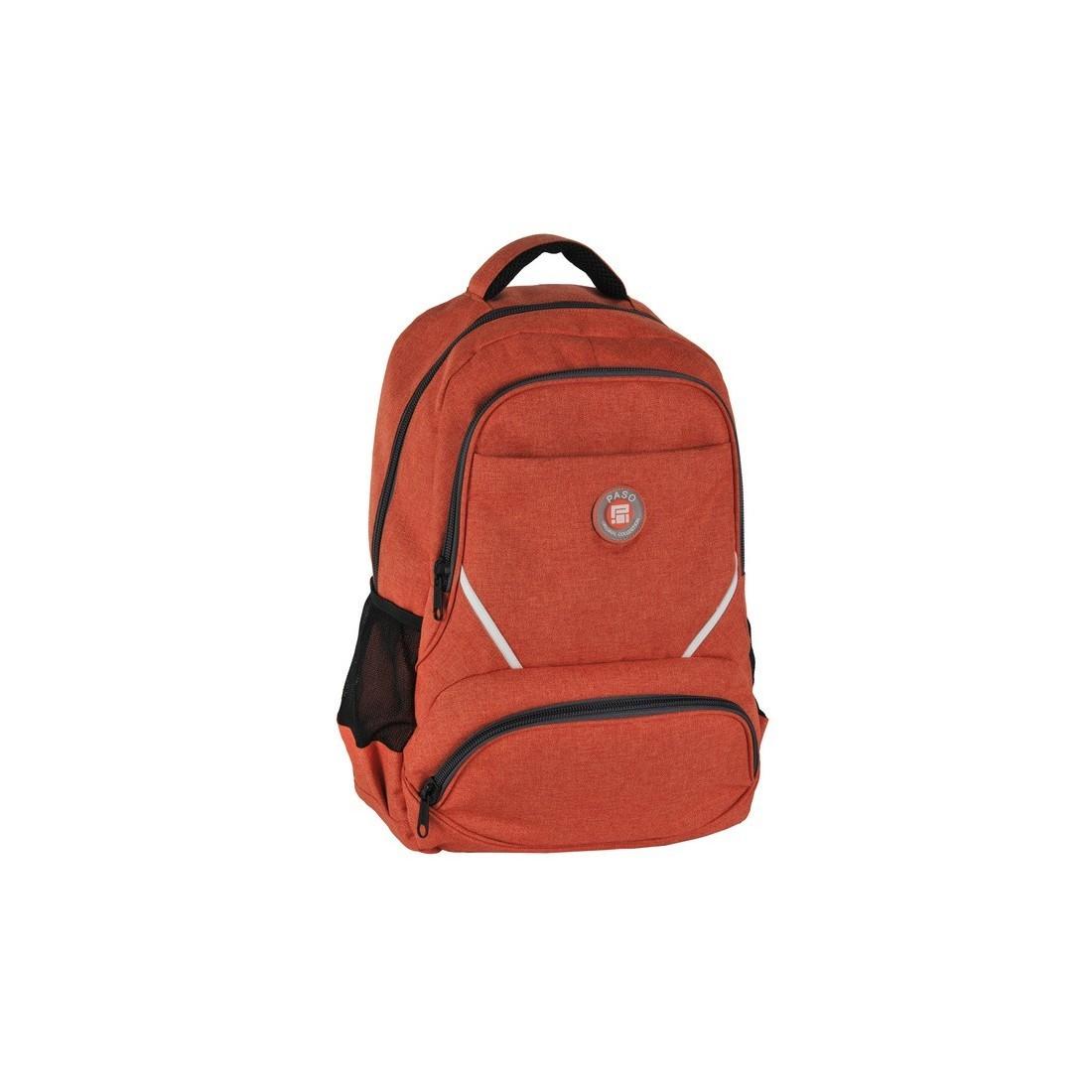 Plecak młodzieżowy pomarańczowy original collection