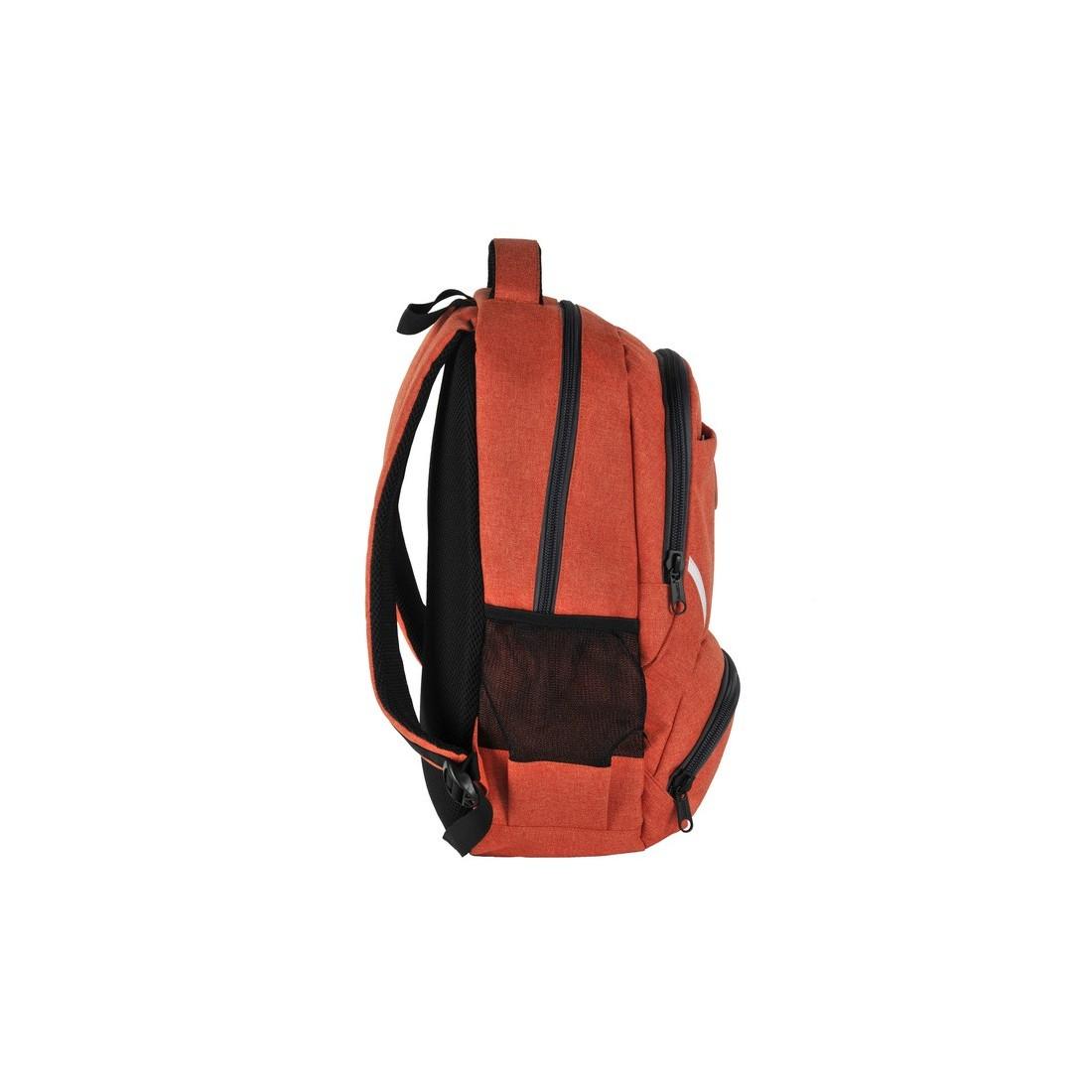 Plecak młodzieżowy pomarańczowy original collection - plecak-tornister.pl