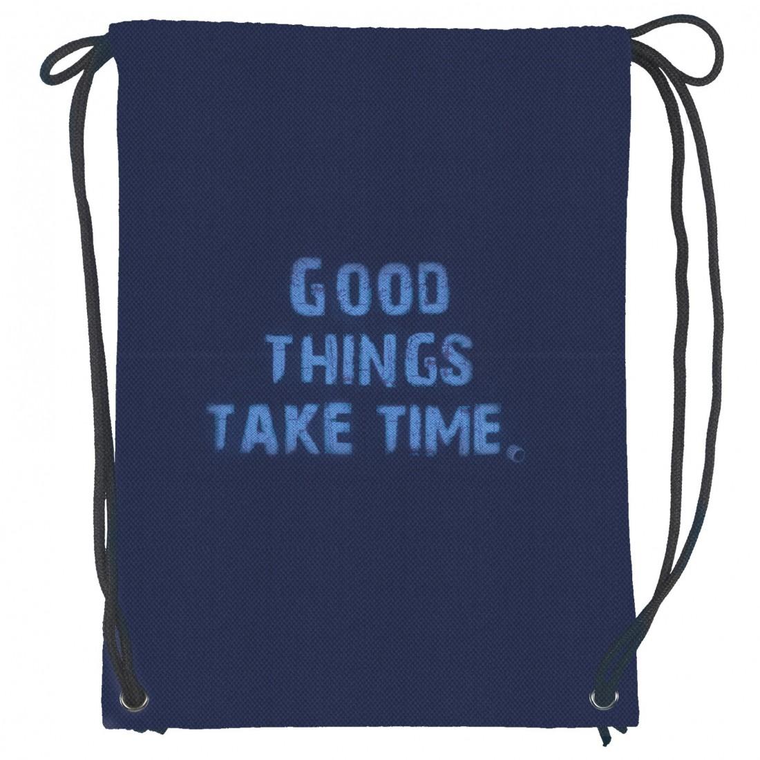 f6b3278a0e102 Worek dla dziewczyny albo chłopaka - plecak miejski, plecak na sznurkach.  Sprawdza się w roli worka na obuwie na strój na WF. Worek z napisami: Good  things ...