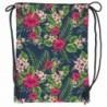 Plecak na sznurkach / worek tropikalne kwiaty BackUP A 12