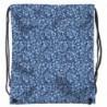 Worek na buty niebieski w kwiaty BackUP A 14