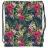 Worek na buty tropikalne kwiaty BackUP A 12