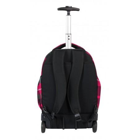 Plecak CoolPack na kółkach młodzieżowy w kratkę - CP 003