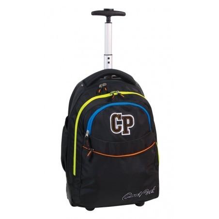 Plecak CoolPack na kółkach czarny dla chłopaka - RAPID NEON LIGHTS CP 013