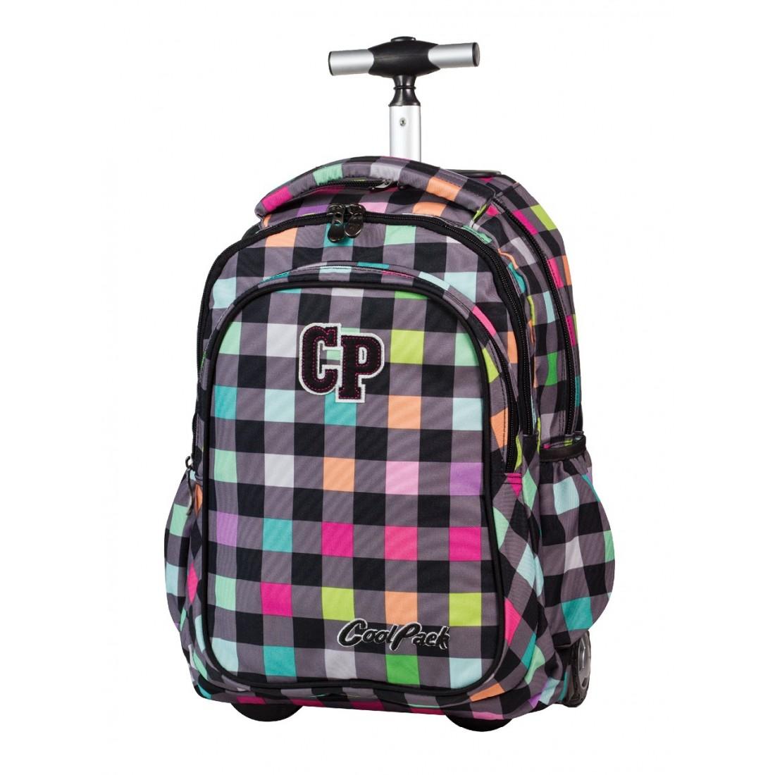 e4984e0d1ccb0 PLECAK NA KÓŁKACH COOLPACK - JUNIOR PASTEL CHECK CP 123a - plecak ...