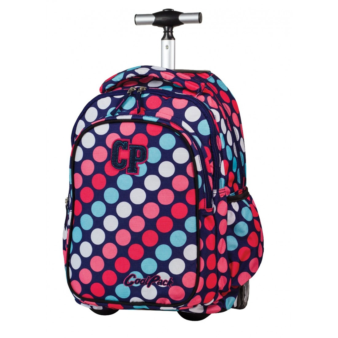 Plecak CoolPack na kółkach w Kropki