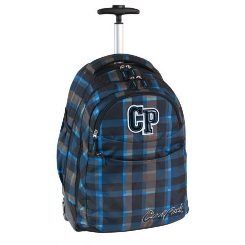 Plecak CoolPack na kółkach dla chłopca w kratkę - CP 073