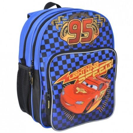 Plecak szkolny Auta Cars niebieski