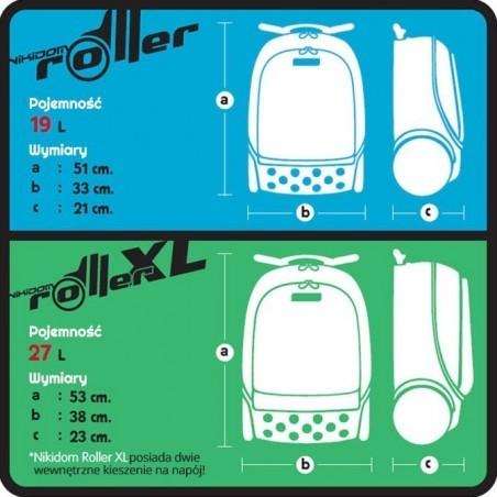 PLECAK NA KÓŁKACH ROLLER XL Mandala