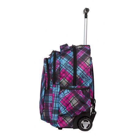 Plecak na kółkach CoolPack Junior CP 043A Różowo Niebieski