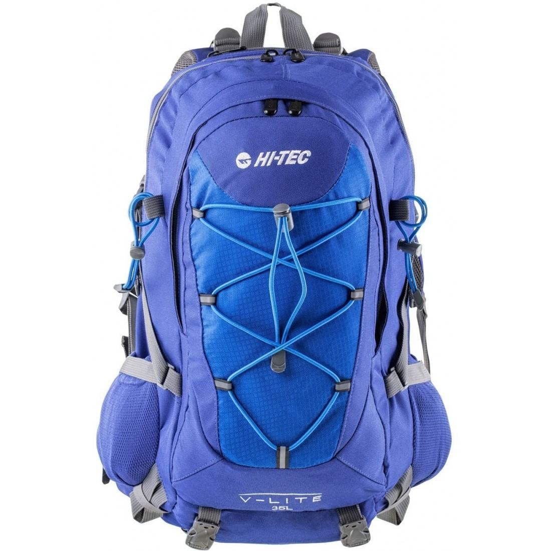 32a2c08385ac0 Plecak na wyjazd w góry Hi Tec Aruba 35 litrów niebieski - plecak ...