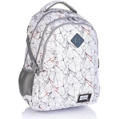 Plecak szkolny HEAD szary marmur marble HD-319 D
