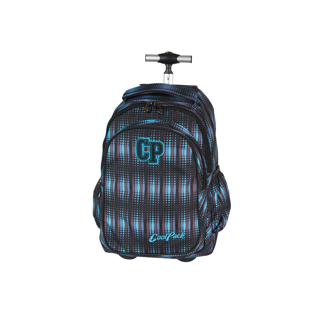 Plecak CoolPack na kółkach dla chłopca w paski - CP 232