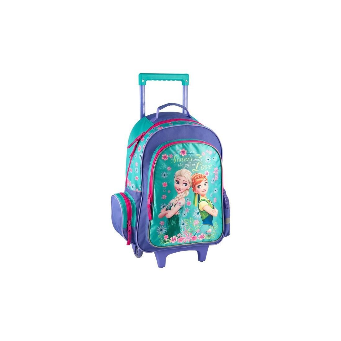 Plecak na kółkach Frozen - plecak-tornister.pl
