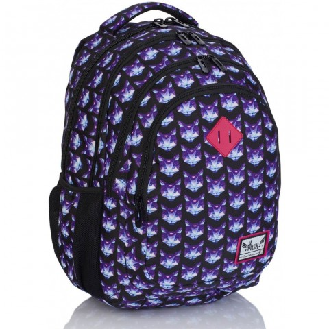 Plecak szkolny HASH diamentowe koty HS-173 C