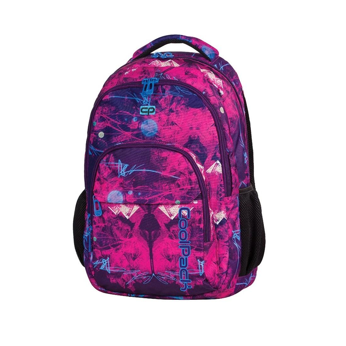 Plecak młodzieżowy CoolPack CP lekki różowo - fioletowy deseń BASIC PURPLE DESERT 538 - plecak-tornister.pl