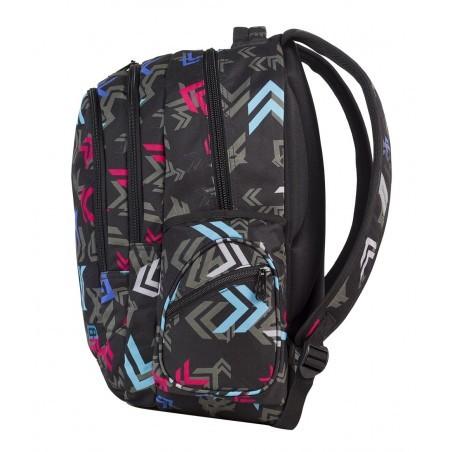 Plecak młodzieżowy CoolPack 3 przegrody LEADER ARROWS CP 550