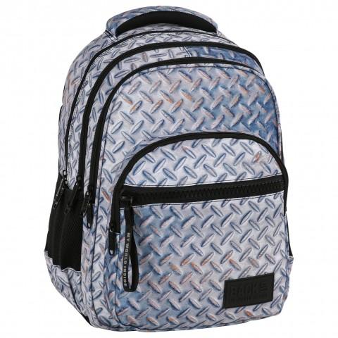 Plecak młodzieżowy BackUP dla chłopca metal BLACHA M42