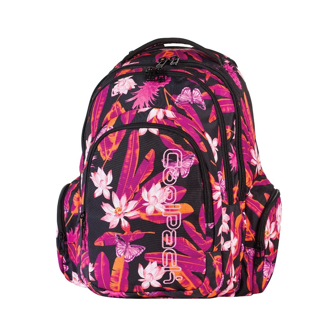 Plecak młodzieżowy CoolPack SPARK 3 przegrody TAHITI CP 566 - plecak-tornister.pl